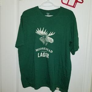 Shirts - Moosehead lager tshirt